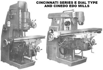 cincinnati english series e and cinedo edo mill manuals rh mcspt com Cincinnati Milacron Injection Molding Cincinnati Milacron Manual Milling Machines